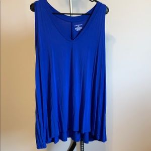 Sleeveless  super soft Lane Bryant shirt
